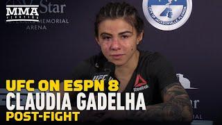 Claudia Gadelha Calls For Carla Esparza Rematch, 'Stop With the Excuses' - MMA Fighting