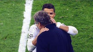 The secret Cristiano Ronaldo whispered in Laurent Blanc's ear after Real Madrid-PSG | Oh My Goal