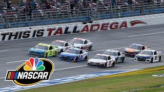 Coke Family Racing Highlights from YellaWood 500 | Motorsports on NBC | Motorsports on NBC