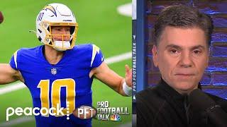 Justin Herbert's potential makes Chargers job most attractive | Pro Football Talk | NBC Sports