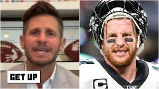 This list STINKS! - Dan Orlovsky on Carson Wentz not making the NFL's top 100 list | Get Up