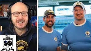 Men in Blazers: Aaron Rodgers reveals what he loves about Manchester City   NBC Sports