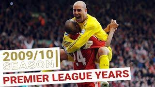 Every Premier League Goal 2009/10 | Reina runs the length of the pitch to celebrate