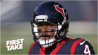 Should Deshaun Watson keep being silent about what's going on with the Texans? | First Take
