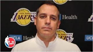 Frank Vogel on LeBron James' ankle injury and how Lakers will move forward | NBA on ESPN