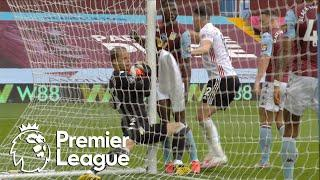 Sheffield United denied opening goal against Aston Villa | Premier League | NBC Sports