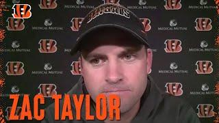 Zac Taylor Discusses Carlos Dunlap's Trade to Seattle | Cincinnati Bengals