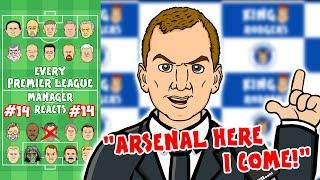 Rodgers to Arsenal?! #14 Every Premier League Manager Reacts