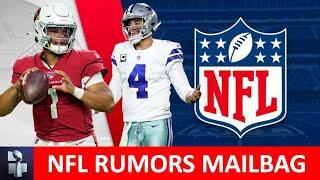 NFL Rumors Mailbag: Dak Prescott Contract? Jadeveon Clowney To The Titans? Teddy Bridgewater Play?
