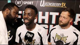 CLASS DISPLAY! - ADAN MOHAMED MOVES 2-0, REACTS TO DECISION WIN VERSUS LUKE FASH ON DUBOIS-DINU CARD