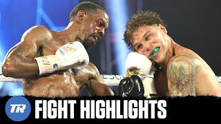Jamel Herring Retains Title Via DQ After Repeated Headbutts from Jonathan Oquendo | FIGHT HIGHLIGHTS