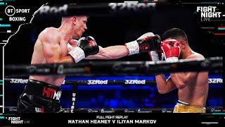 The Best Fans In England?! Nathan Heaney Stops Iliyan Markov To Send Stoke Fans Crazy - Full Fight