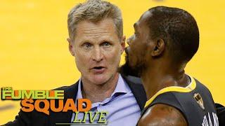Kevin Durant CLAPS BACK At Steve Kerr Shade About His Time On The Warriors
