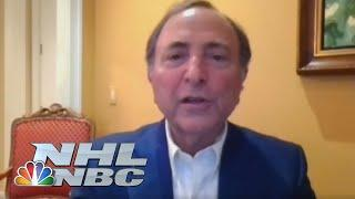 NHL Commissioner Gary Bettman details Return to Play Plan (FULL PRESS CONFERENCE) | NBC Sports