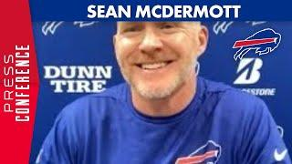 """Sean McDermott: """"It's a Time to Build our Team""""   Buffalo Bills"""