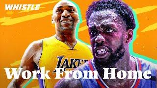 What Are Pro Athletes Up To At Home?  | ft. Pat Beverley, Metta World Peace, & Collin Sexton!