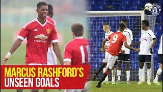 Marcus Rashford's 'Unseen' Goals! | The Academy | Manchester United