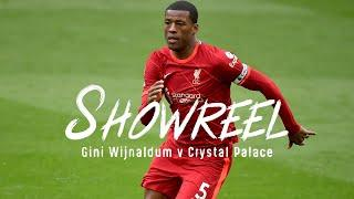 Showreel: The best of Gini Wijnaldum's midfield display against Crystal Palace