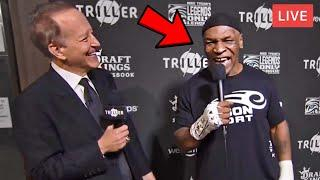 """*WOW* MIKE TYSON MOMENT BEFORE FIGHT vs ROY JONES JR """"I HAVE BAD INTENTIONS, IT WILL BE BRUТАL!"""""""