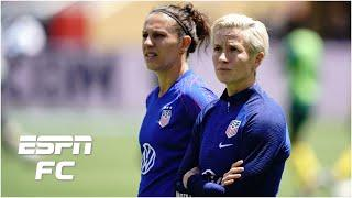USWNT vs. Colombia preview: Why Carli Lloyd & Megan Rapinoe could miss out on the Olympics   ESPN FC