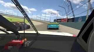 eNASCAR: Ride along with Denny Hamlin's on-board camera as he wins iRacing showdown