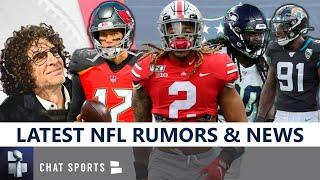 NFL Rumors & News: Redskins Drafting QB? Latest On Clowney, Ngakoue, Brady & Howard Stern Interview