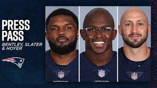 Ja'Whaun Bentley, Matthew Slater & Brian Hoyer on Taking Advantage of Every Opportunity | Press Pass