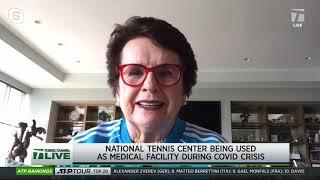 Tennis Channel Live: Billie Jean King on WTA Helping Lower Ranked Players Why Tennis Needs One Voice