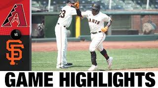 Donovan Solano lifts Giants to 4-2 win | D-backs-Giants Game Highlights 9/6/20