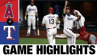 Joey Gallo homers in Rangers' shutout win | Angels-Rangers Game Highlights 8/8/20