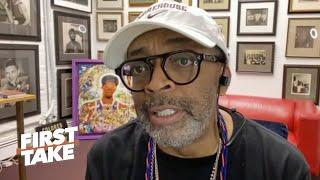 Spike Lee on NASCAR banning the Confederate flag & meeting with Drew Brees & the Saints | First Take