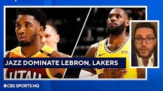 Lakers vs Jazz FULL recap: LeBron James, Lakers dominated by red-hot Jazz | CBS Sports HQ