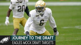 Popular Mock Draft Targets for the Eagles & Rivalry Weekend Matchups   Journey to the Draft