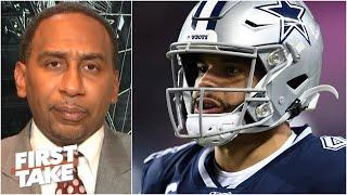 'Dak doesn't look great' for rejecting contract offers from the Cowboys - Stephen A. | First Take