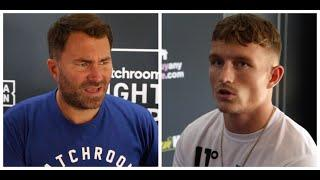 EDDIE HEARN NOT HOLDING BACK, WARNS DALTON SMIT -'IF YOU PERFORM BADLY, YOU COULD LOSE ON SATURDAY'