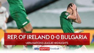 Rep.of Ireland avoid relegation! | Rep. of Ireland 0-0 Bulgaria | UEFA Nations League Highlights
