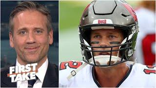 Max Kellerman isn't sold on Tom Brady being elite after throwing 5 TDs vs. the Chargers | First Take