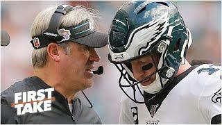 Did Doug Pederson deserve to be fired for 1 bad season with the Eagles? First Take debates