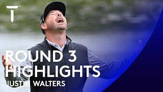 Justin Walters extends his lead | Day 3 Highlights | ISPS HANDA UK Championship