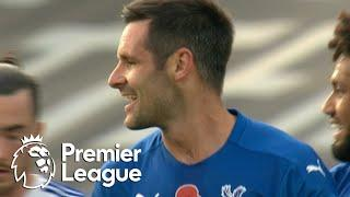 Scott Dann heads Crystal Palace in front of Leeds United | Premier League | NBC Sports