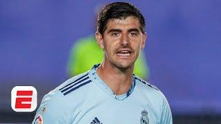 Real Madrid 'ride their luck' as Thibaut Courtois saves the day in 2-0 win vs. Levante | ESPN FC