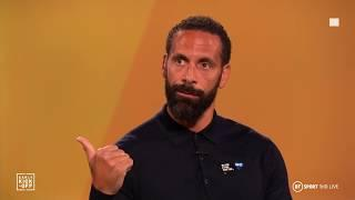 Rio Ferdinand and Jake Humphrey have emotional chat about racism in society