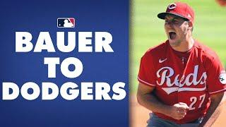 BAUER TO DODGERS! NL Cy Young heading to LA reportedly! | Trevor Bauer Career Highlights