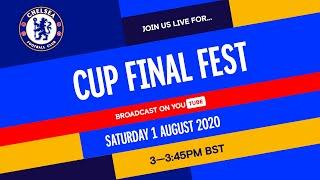Chelsea v Arsenal   Cup Final Fest hosted by Trevor Nelson feat. Timo Werner & Matthew McConaughey!