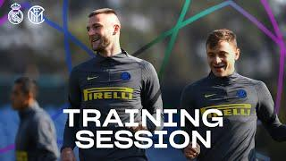 REAL MADRID vs INTER | PRE-MATCH TRAINING SESSION | 2020-21 UEFA CHAMPIONS LEAGUE