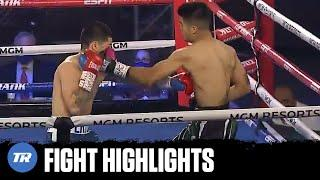CRAZY FIGHT! Eric Mondragon & Mike Sanchez exchange 1st Rd. knock downs, fight to draw   HIGHLIGHTS