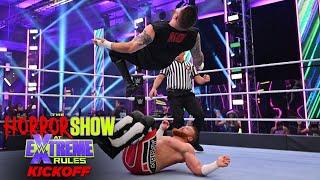 Kevin Owens cannonballs into Murphy: The Horror Show at WWE Extreme Rules (WWE Network Exclusive)