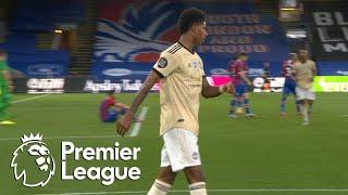 Marcus Rashford slots Man United into the lead v. Crystal Palace | Premier League | NBC Sports