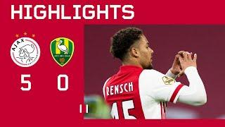Highlights | Ajax - ADO Den Haag | Eredivisie