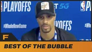 Goerge Hill ADMITS He Missed National Anthem To Take A Sh**!   Best Of The Bubble!